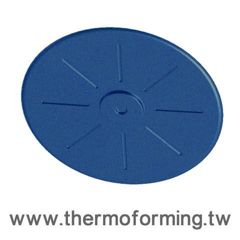 電子元件料卷盤捲邊機真空成型-非傳統塑膠射出成型www.thermoforming.tw