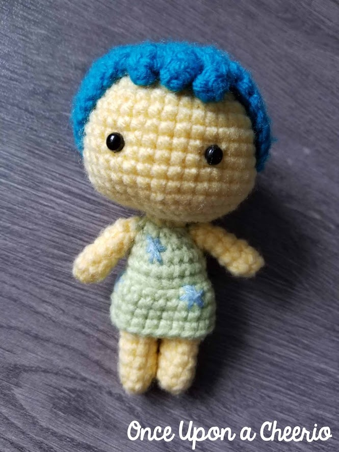 Inside Out Joy Free Amigurumi Crochet Pattern