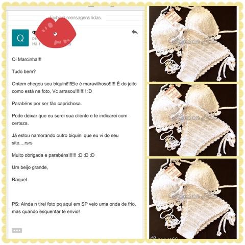 Cliente Menina Lili Croche - Raquel