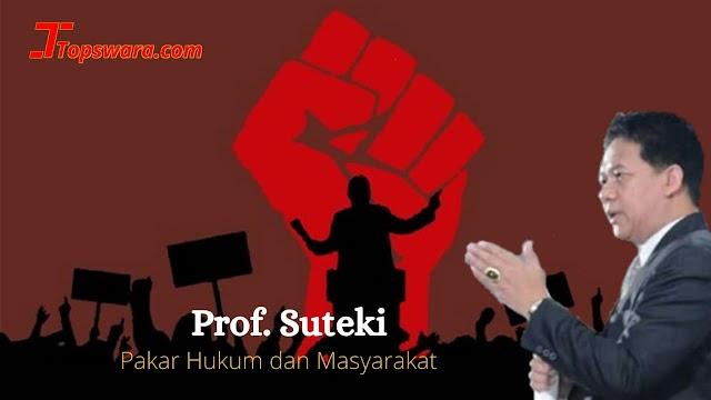 Prof. Suteki Ungkap Tiga Perbedaan Mendasar Demokrasi dan Islam