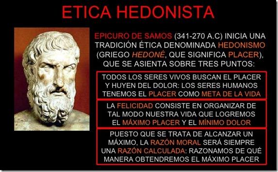 05 Etica Hedonista de Epicuro