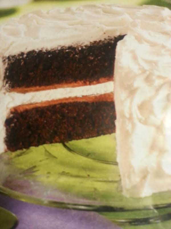 Moist Fudgy Cake, Goes Great W/ A Strong Cup Of Coffee!