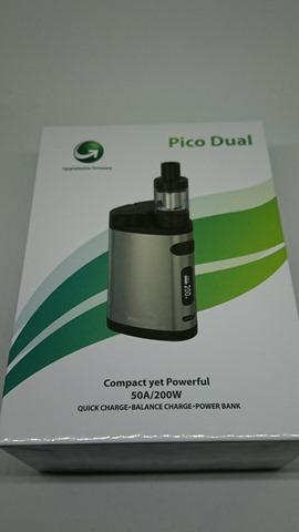DSC 1431 thumb%25255B2%25255D - 【MOD】「Eleaf iStick Pico Dual MOD」デュアルバッテリー&モバブー!レビュー。大型アトマも搭載できるPico拡張機【モバイルバッテリー/VAPE/電子タバコ】