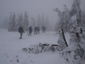 Photo: Jediný Kukie měl sněžnice. (Dokonce měl troje rukavice, zatímco já a ni jedny. :-D)