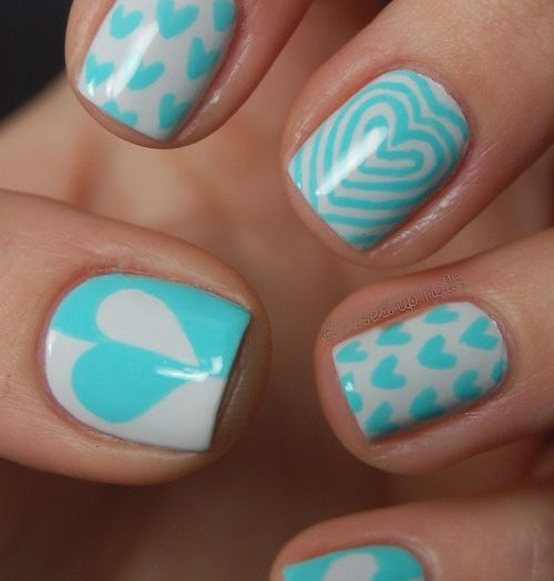 BEST 40+ LIGHT BLUE NAIL DESIGNS FOR 2018