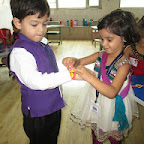 Rakhsha Bandhan Celebration (Jr.KG.) 8-8-16