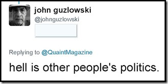 john guzlowski on Twitter