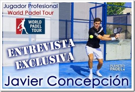 Entrevista exclusiva al jugador Javier Concepción: 2,03 metros de pura profesionalidad.