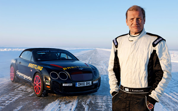 Bentley Supersports sets a new world speed record