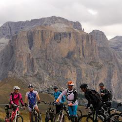 Bike Diana-18. September Sella Ronda Abschlusstour! Wir sehen uns nächstes Jahr wieder :-)