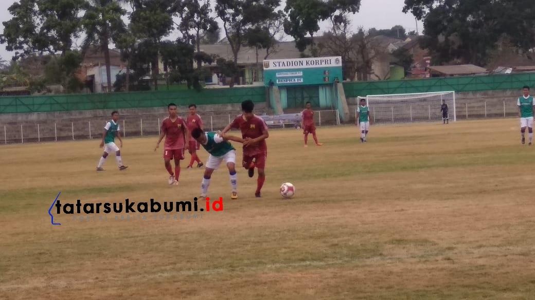 Meski Kalah 0-2 oleh Benpica Karawang, Bintang Timur Sukabumi Masih Berpeluang Maju ke Putaran Selanjutnya