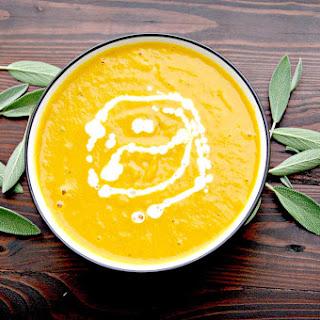 Easy Butternut Squash Soup.