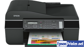 How to reset Epson TX300F by tool