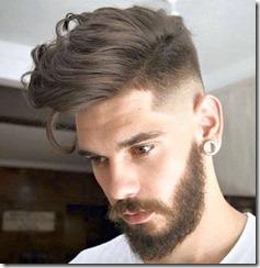 Fade Haircut High Fade With Long Hair