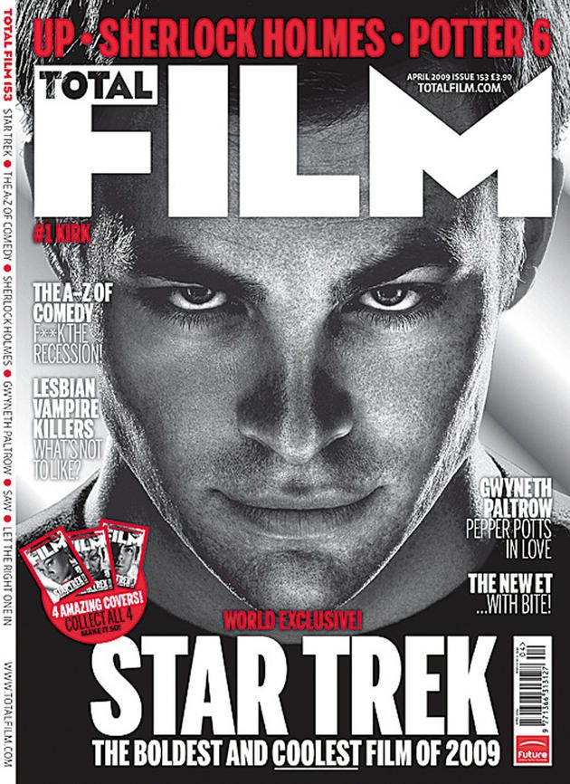 Alana Shaw G324 Total Film Magazine Front Cover Analysis