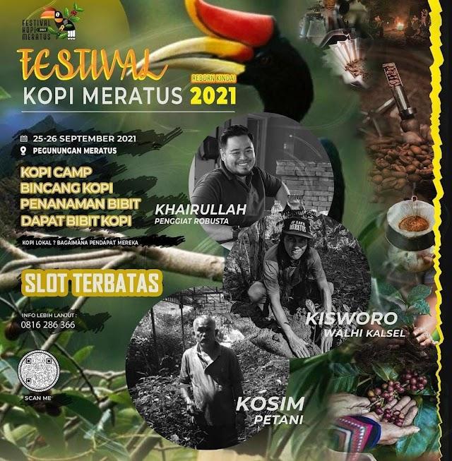 Siap-Siap, Para Barista Bakal Adakan Festival Kopi Meratus