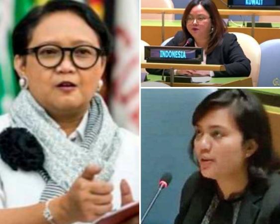 """Para Diplomat Perempuan Indonesia yang """"Garang"""" Membela Bangsa di Forum Internasional"""