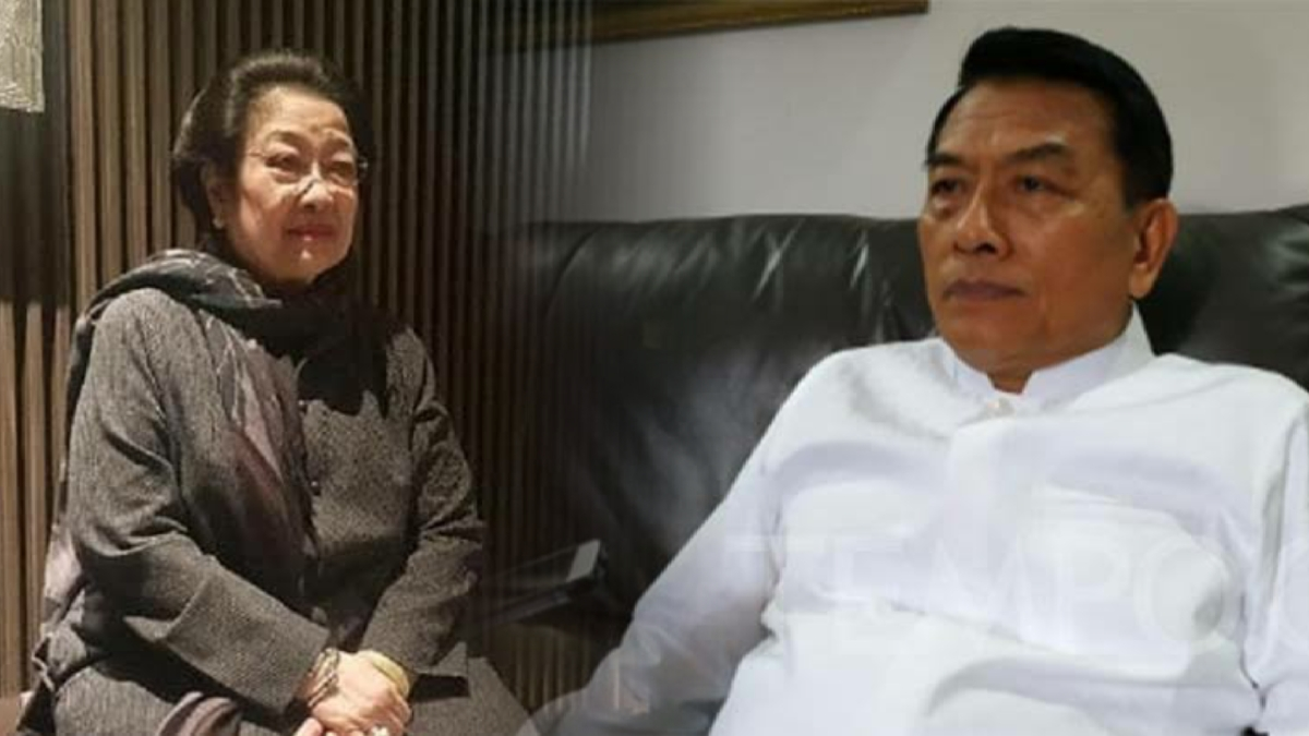Moeldoko Kabarnya Sowan ke Megawati, AA: Ini Mau Adu Domba SBY, Jokowi, dan Mega