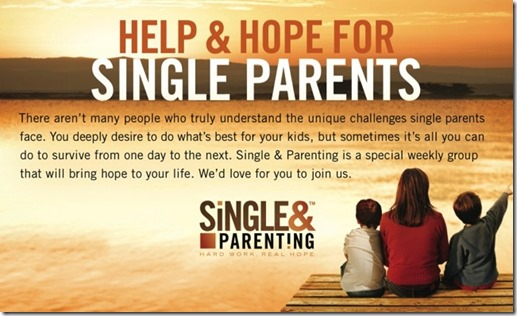 Single and Parenting Blurb