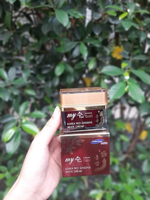 em dưỡng trắng da sâm đỏ My Gold Hàn Quốc