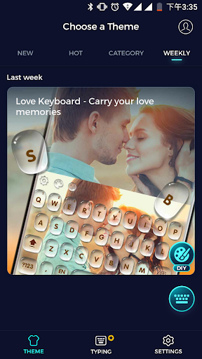 Cheetah Keyboard - Type less, say more! Appar (APK) gratis nedladdning för Android/PC/Windows screenshot