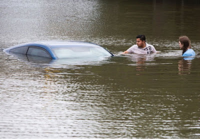 Texas hit with historic Flooding