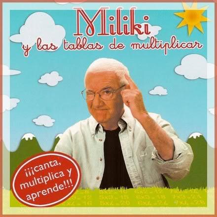 Las tablas de multiplicar cantadas por Miliki