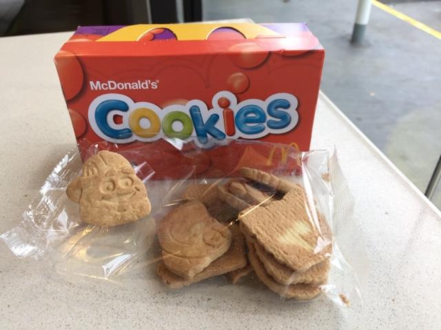 Mcdonald Cookies House Cookies