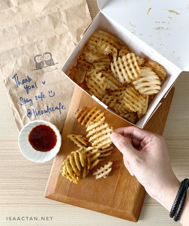 Waffle U.S. Fries