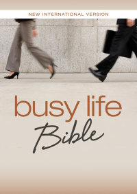 NIV Busy Life Bible By Zondervan