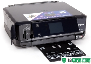 How to Reset Epson XP-700 flashing lights problem