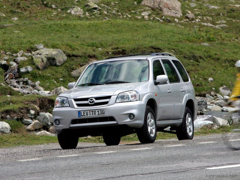 2001 mazda tribute suv specifications pictures prices. Black Bedroom Furniture Sets. Home Design Ideas