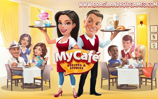 Download My Cafe: Recipes & Stories - World Cooking Game v2017.6 APK + OBB Data - Jogos Android