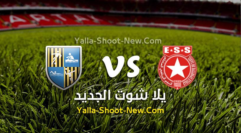 مباراة النجم الساحلي والمقاولون العرب