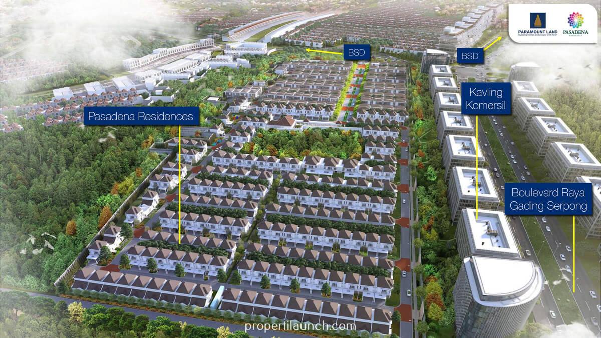 Cluster Pasadena Residences Gading Serpong