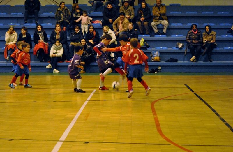 Instante partido biberóns Numancia - R. de Neda (Pavillón de Ares 15/01/2013)