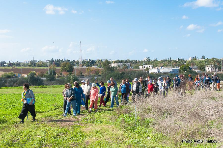 Гид в Израиле Светлана Фиалкова. Экскурсия в Тель Афек.
