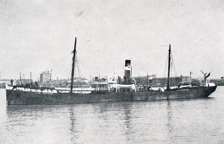 Vapor FRANCISCO GARCIA en lugar y fecha indeterminados. Del libro La Marina Cantabra. Desde el Vapor. Vol. III.tif