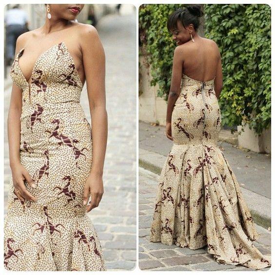 THE BEST RUFFLE DRESS DESIGNS SOUTH AFRICAN WOMEN LOVE TO WEAR 7