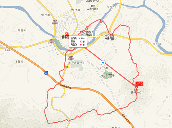 경북성주읍성산리사드배치