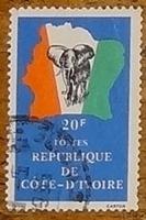 timbre Côte d'Ivoire 003