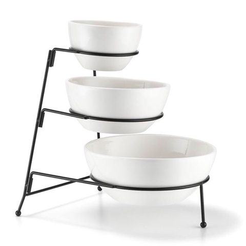Avon 3 Serving bowls and stand