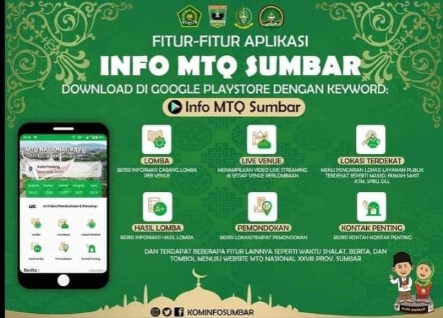 Aplikasi Info MTQ Nasional XVIII.