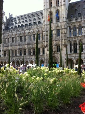 Fleurs grand place Bruxelles