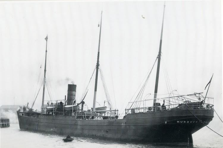 El HUBBUCK bajo los colores de T. Bowen Rees & Co., ca. 1905, Ships in Focus Record 7.jpg