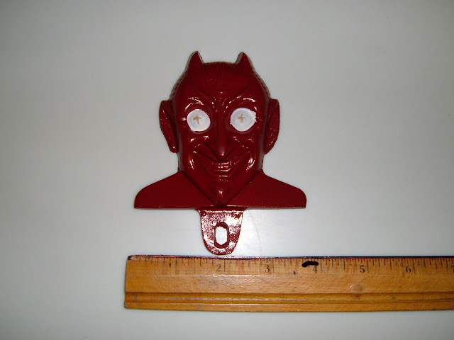 License topper, Red Devil.. 25.00