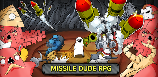 Missile Dude RPG Tap Tap Missile Gain 100x Crystal on kill