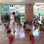 Karate Camp Jr Kg Section at Witty World Bangur Nagar (2017 - 18)
