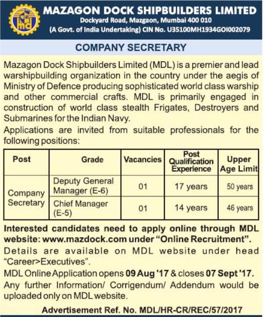 [MDL+Company+Secretary+Jobs+2017+www.indgovtjobs.in%5B2%5D]