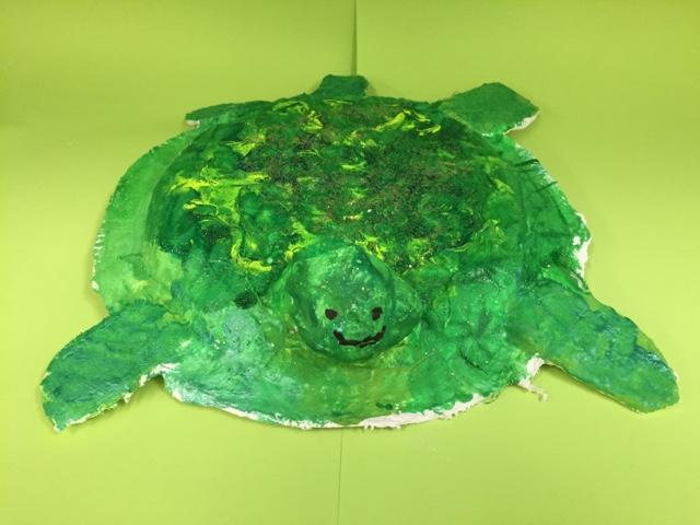 paper mache sea turtle | Paper mache animals, Paper mache art, Sea ... | 480x640